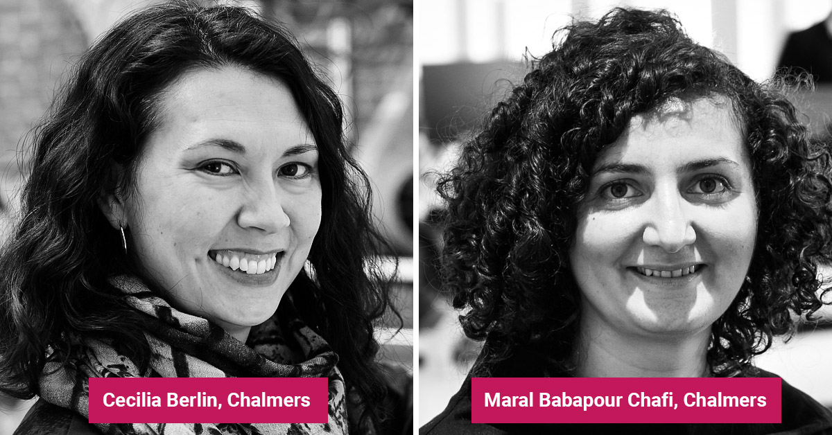 Cecilia Berlin och Maral Babapour Chafi