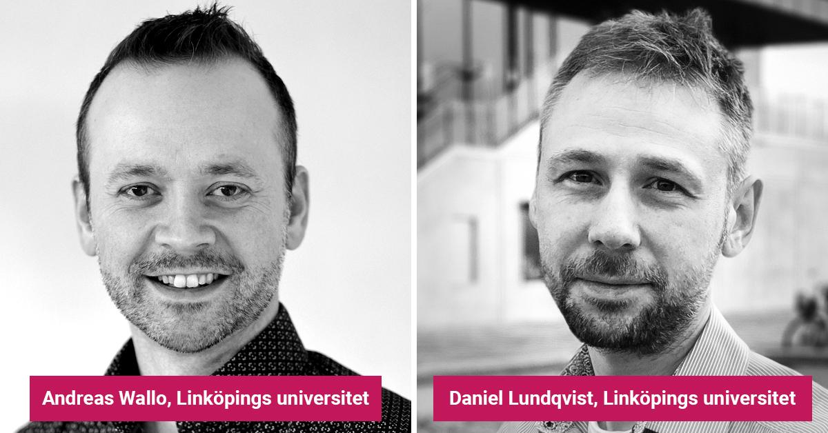 Andreas Wallo och Daniel Lundqvist