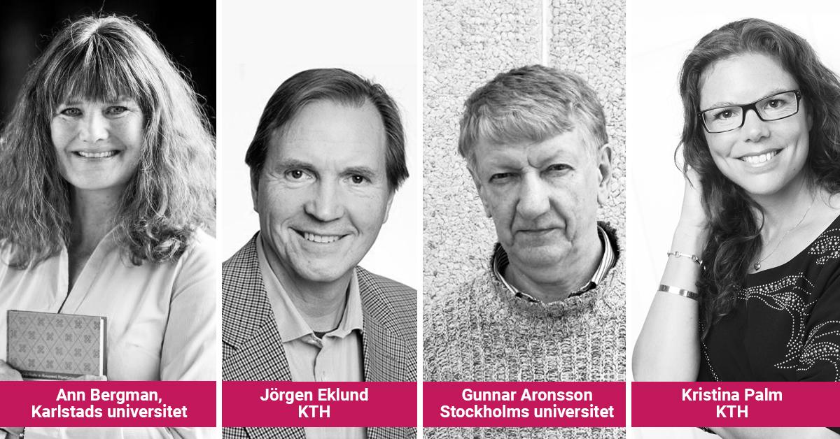 Ann Bergman, Jörgen Eklund, Gunnar Aronsson eller Kristina Palm