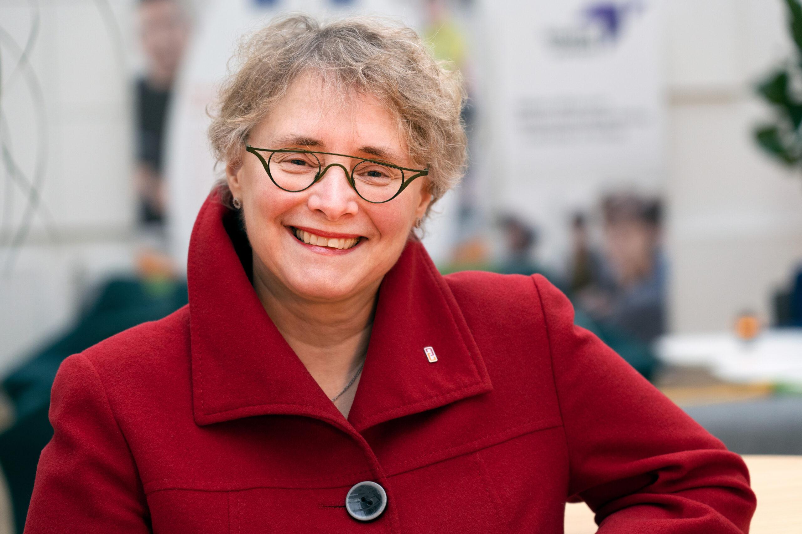 Annette Nylund, analytiker vid Myndigheten för arbetsmiljökunskap