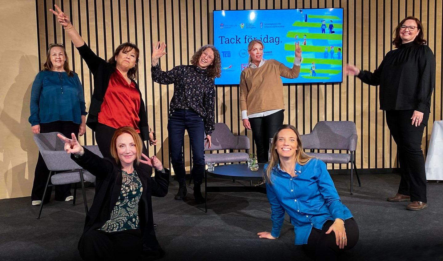 Bild som visar arrangörerna av webbinariet